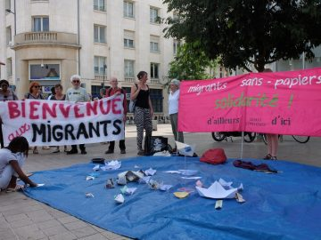 Solidarité avec les migrant·e·s