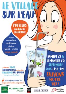 Village sur l'eau - Alternatiba, Poitiers @ Moulin de Chasseigne | Poitiers | Nouvelle-Aquitaine | France
