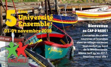 5e université d'Ensemble ! pour explorer le «monde nouveau»! @  Village vacances Azureva  | Agde | Occitanie | France