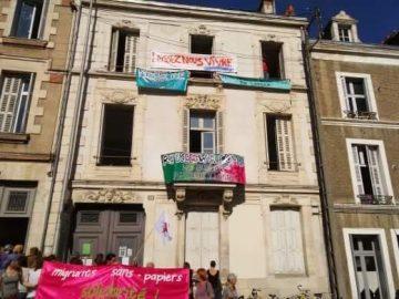 Mobilisation contre l'expulsion des mineurs isolés étrangers de leur lieu d'accueil : « La Maison »