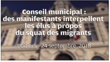La Maison s'invite au Conseil municipal de Poitiers