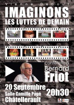 Imaginons les luttes de demain — conférence de Bernard Friot @ Salle Camille Pagé | Châtellerault | Nouvelle-Aquitaine | France