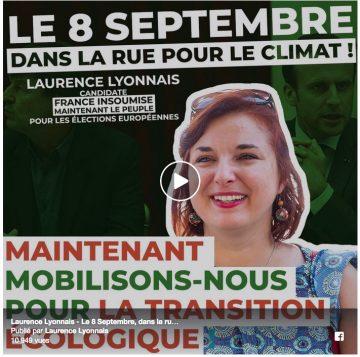 Marchons pour le climat le 8 septembre !