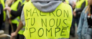 Communiqué de Ensemble Insoumis.  Macron doit céder ou céder la place.
