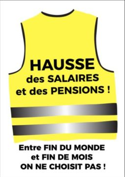 Solidaires 86 appelle à la manifestation Gilets jaunes du 12 janvier