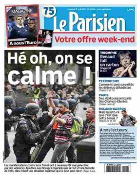 """Acrimed: """"Le  Parisien"""" face aux Gilets jaunes: le meilleur porte-parole de Macron, de la Préfecture, du MEDEF."""