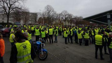 Acte XIX du mouvement des Gilets Jaunes @ Rond-point d'Auchan-sud à Poitiers | Independence | Kansas | États-Unis