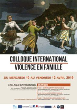 Les violences en famille @ MSHS et Espace Mendès France