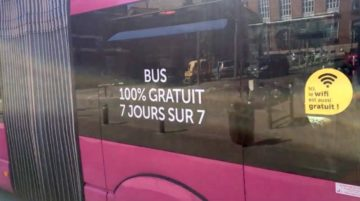 Conférence - débat avec Claire–Marine Javary sur la gratuité des bus - le modèle de Dunkerque @ Grande salle des Salons de Blossac