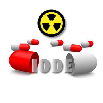 Distribution de pastilles d'iode - Civaux