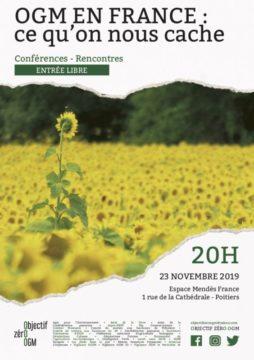 OGM en France : ce qu'on nous cache @ Espace Mendès France