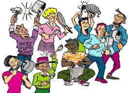Action retraites 13 fevrier : concert de casseroles