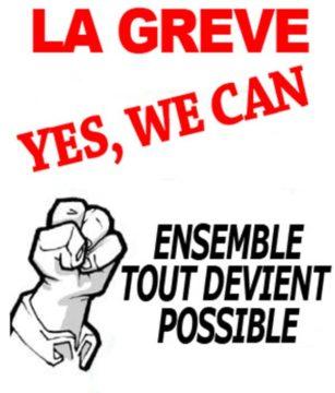 ANNULÉ/31 mars : Grève et manifestation @ Porte de Paris