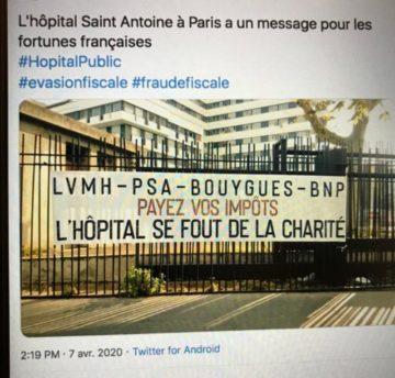 Mobilisation santé le mardi 16 juin à Poitiers. Tous ensemble!