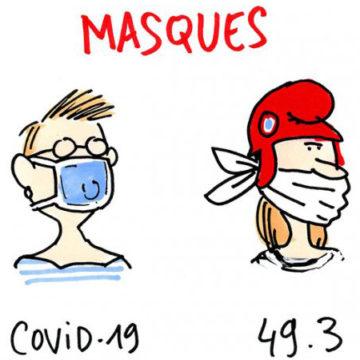 Relance de la production de masques près de St Brieuc