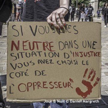 Contre le racisme, les violences policières et les expulsions, on continue ! @ Place de la Mairie