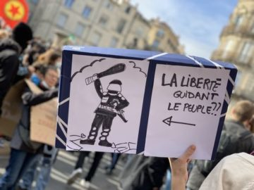 """""""Répression d'État: nous ne céderons ni au chantage, ni à la peur"""""""