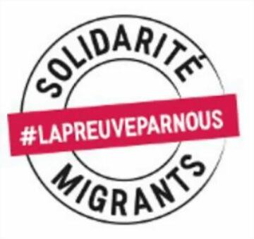 Marche solidaire avec les jeunes étrangers @ Porte de Paris à Poitiers