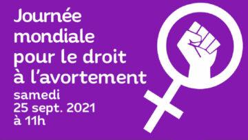 Journée mondiale pour le droit à l'avortement @ Parvis de la place Notre-Dame